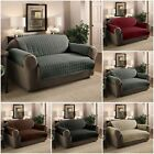 Quilted Sofa Protector Throw Furniture Protector Water Repellant 1 2 3 Seater