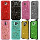 Samsung Galaxy Note 4 HYBRID IMPACT KICKSTAND Diamond Case Cover + Screen Guard