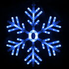 156 LED Snowflake Fairy Light Party Christmas Festival Window Tree Decor Indoor