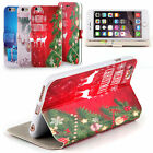 For 4.7'' iPhone 6 Christmas Pattern PU+TPU Back Case Cover Shell Protector