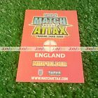WORLD CUP 2010 HUNDRED CLUB LIMITED EDITION MATCH ATTAX ENGLAND CARD 10