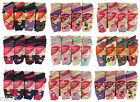 12 Pairs Of Ladies Design Thermal Socks, Thick Warm Winter Boot Socks, Size 4-7