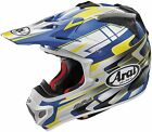 Arai VX-Pro 4 Helmet Tip Blue/Yellow XS-2XL