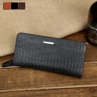 Men's Stylish Wallet Card Clutch Holder Handbag Phone package Long wallet ZC0013