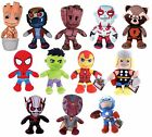 "NEW 8"" 12"" MARVEL PLUSH AVENGERS SOFT TOY HULK SPIDERMAN THOR IRON MAN SUPERHERO"