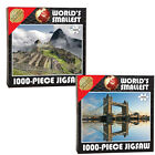 1000PC WORLD SMALLEST JIGSAW PUZZLE FUN KIDS FAMILY PIECE PARTY GIFT BOARD GAME