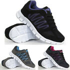 Ladies Running Trainers Womens Shock Absorbing Sports Walking Fitness Gym Shoes