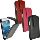 Leather Flip Skin Case Cover Holder for Samsung Galaxy S4 SIV MNI I9190 I9195
