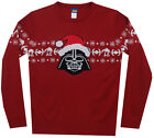 Darth Vader Star Wars Movie Mighty Fine Adult Knit Pullover Christmas Sweater