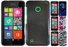 For Nokia Lumia 530 HARD Protector Case Snap On Phone Cover +Screen Gaurd