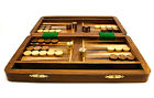 Personalised Extra Large Backgammon Games Set With Rosewood Box, Engraved Gift