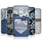 HEAD CASE JEANS AND LACES GEL REAR CASE COVER FOR LG G2 D802