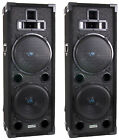 "2) VM Audio VAS428P 8"" 1600 Watt DJ Passive Loud PA Professional Speaker System"