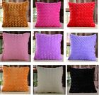 NEW Decorative Pure Plush Throw Pillow Case Cushion Cover 18*18
