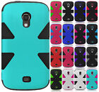 For Samsung Galaxy Light T399 IMPACT TUFF HYBRID Hard Protector Case Phone Cover