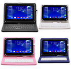 """iRULU 10.1"""" Android 6.0 Tablet 1G/8G Quad Core Bluetooth Cam MP3 with Keyboard"""