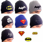 Superhelden Beanie Hat Superman Star Wars Batman Star Trek Men's