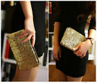 Women Ladies Sequins Handbag Glitter Sparkling Evening Party Purses Clutch Bags