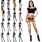 New Pattern Sexy Womens Leggings Skinny Stretchy Elastic Pencil Pants Jeggings