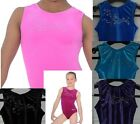 GYMNASTICS LEOTARD / LEOTARDS ZONE FANFARE  AGES  3 - 13  SEVERAL COLOURS