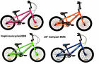 "20"" Urban Culture Compact BMX Bike NEW Street Youth Bicycle Cheap Bargain"