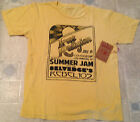 AUTHENTIC TRUE RELIGION T Shirt CREW NECK SUMMER JAM Yellow NEW