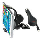 360° Car Air Vent Mount Cradle Holder Bracket+Micro-USB Charger For Cell Phone