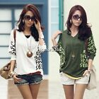 Hot Fashion Women's Batwing Top Dolman Loose T-Shirt Blouse Top Half Sleeve N4U8
