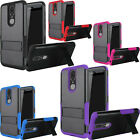 For Samsung Galaxy Note 4 IMPACT Verge HYBRID Kickstand Case Skin Phone Cover