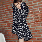 XD0001 New Knit Coat Jackets With Hats For Pregnant Women Blend Cotton Outwear