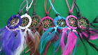 DREAM CATCHER NECKLACES IN 7 DIFFERENT COLOURS, ADJUSTABLE STING TO FIT ALL