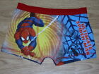 Boy's Ultimate Spiderman Character Boxer Shorts Trunks. BNWT (140)