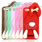 Silicone 3D Case Teeth Bunny Rabbit Pattern Cover Skin For Apple iPhone 6 6Plus