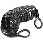 PEDALPRO 10MM STEEL DOUBLE LOOP EXTENSION CABLE/CHAIN BIKE LOCK BICYCLE/CYCLE