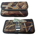 Canvas Camouflage Hunter Horizontal Pocket Case fits iPhone 6 PLUS