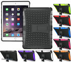 GRENADE GRIP RUGGED SKIN HARD CASE COVER STAND FOR APPLE iPAD AIR-2 A1566 A1567