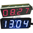 "Red Blue PCK-4 1"" 4-Bit Clock DIY Module DIY Kit 1-inch Digital Tube"