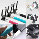 Audio Cable control Selfie Stick Monopod For iPhone Samsung  Extendable Handheld