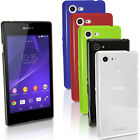 Glossy TPU Gel Case for Sony Xperia E3 D2203 D2206 Skin Bumper Cover Screen Prot