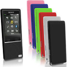Silicone Gel Skin Case for Sony Walkman NWZ-A15 A17 Rubber Cover + Screen Prot