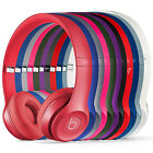Beats Authentic Solo 2 By Dr Dre On-Ear Wired Headphones New USA Model - Blue