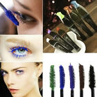 1x Women Waterproof blue purple black brown mascara natural longlasting makeup