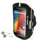 Running Jogging Sports Armband for Motorola Moto G 2nd Gen XT1068 Fitness Gym