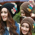 New Women's Winter Wool Knit Baggy Hat Ski Sport Knitted Warm Beanie Skull Cap