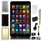"""Unlocked GSM+WCDMA 3G phablet 7"""" Tablet Android 4.4 Dual SIM Smart Phone+TF Card"""