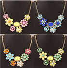2015 new style Wholesale Fashion Personality Punk Colors Sweet flowers Necklaces
