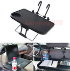 Car Steering Laptop Food Tablet iPad Seat Mount Tray Table with Cup Holder
