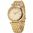 Taylor Cole Women Lady Date Display Stainless Steel Bracelet Quartz Wrist Watch