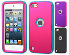 iPod Touch 5 5th Gen  IMPACT Verge HYBRID Case Skin Phone Cover +Screen Guard