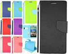 For HTC Desire EYE Premium Leather 2 Tone Wallet Case Pouch Flip Cover Accessory